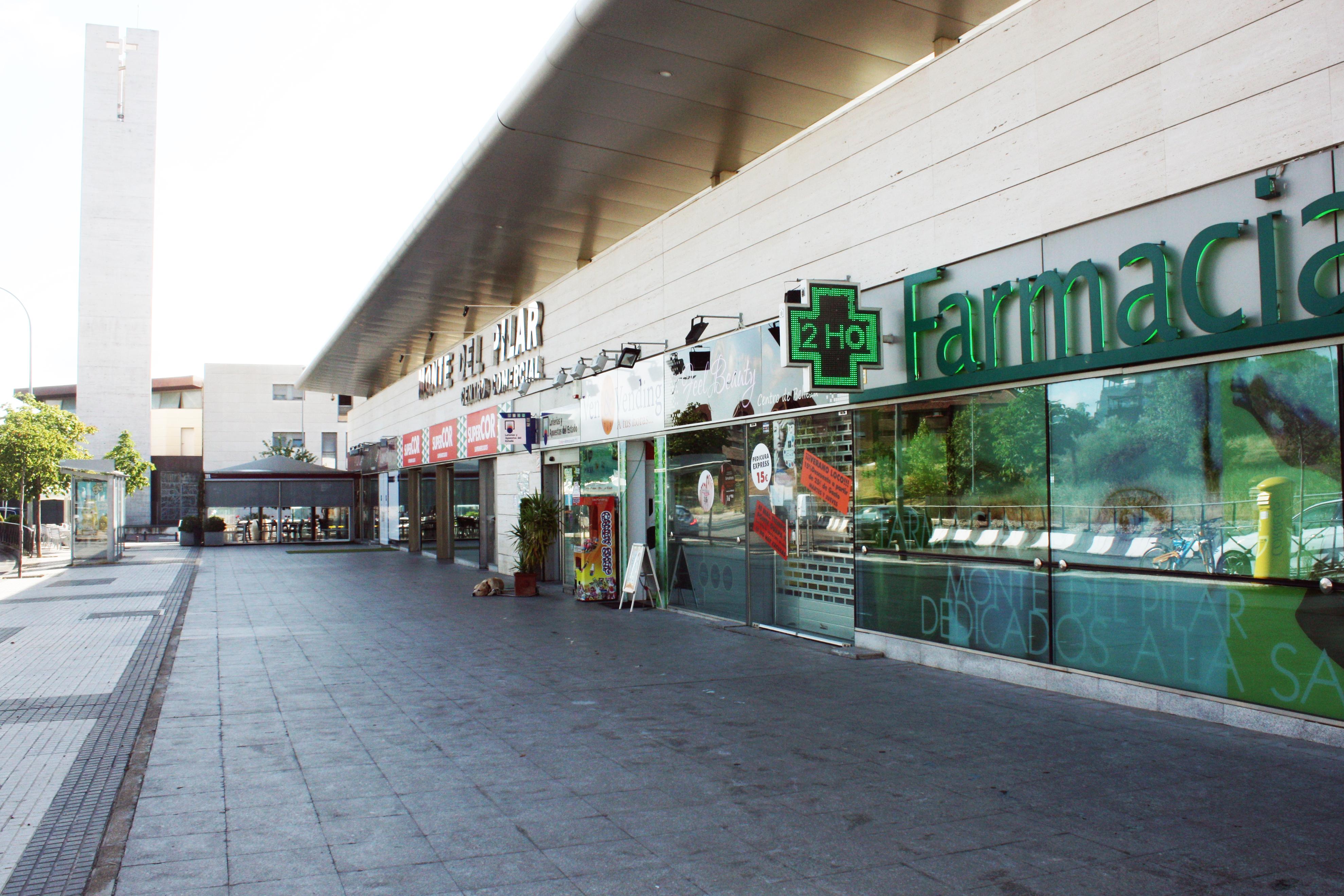 centro comercial monte del pilar